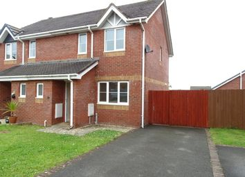 Thumbnail 3 bed semi-detached house to rent in Bro Caerwyn, Llangefni, Ynys Mon