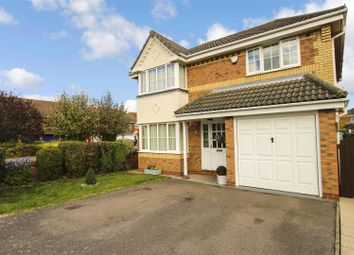 Thumbnail 4 bed detached house for sale in Stickle Close, Huntingdon