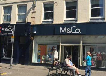 Thumbnail Retail premises to let in Dalrymple Street, Girvan