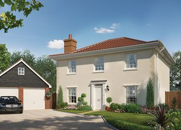 Thumbnail 4 bedroom detached house for sale in St Michaels Way, Off Long Lane, Wenhaston, Suffolk