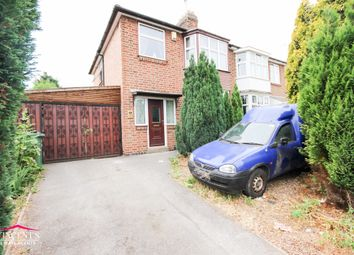 Thumbnail 3 bed semi-detached house for sale in Rosamund Avenue, Leicester