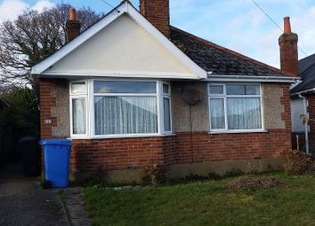 Thumbnail 2 bedroom bungalow to rent in Woodlands Crescent, Hamworthy, Poole