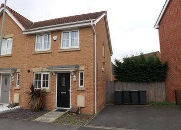 Thumbnail 2 bed semi-detached house to rent in Moody Close, Chilwell, Beeston