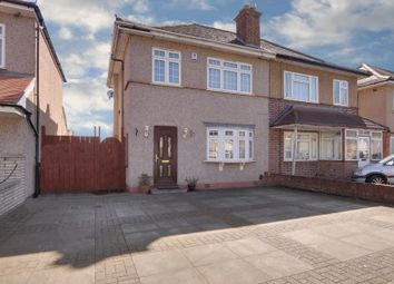 Thumbnail 3 bed semi-detached house to rent in Kingshill Avenue, Northolt