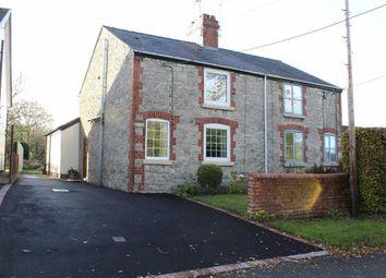 Thumbnail 2 bed semi-detached house for sale in Pen Y Fron Road, Pantymwyn, Flintshire
