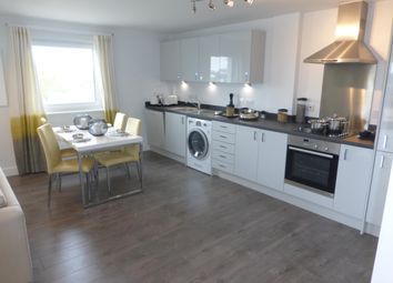 Thumbnail 2 bed flat to rent in Hawksbill Way, Peterborough