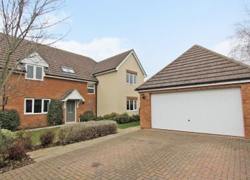 Thumbnail 5 bed detached house for sale in The Old Wood Yard, Over, Cambridge