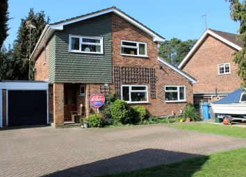 Thumbnail 4 bedroom link-detached house for sale in Church Crookham, Fleet