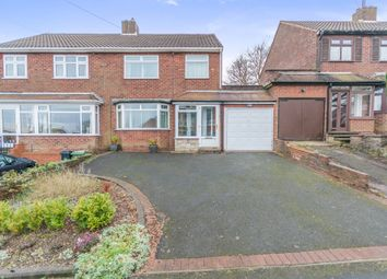 Thumbnail 3 bed semi-detached house for sale in Summerfields Avenue, Halesowen