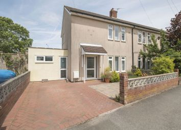 Thumbnail 2 bed end terrace house for sale in Churchill Avenue, Clevedon