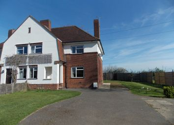 Thumbnail 3 bed semi-detached house to rent in Police Houses, Thaxted Road, Wimbish, Saffron Walden, Essex