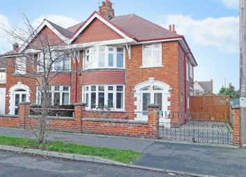 Thumbnail 3 bed semi-detached house for sale in Lumley Crescent, Skegness