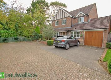 Thumbnail 4 bed detached house for sale in Crabtree Walk, Broxbourne