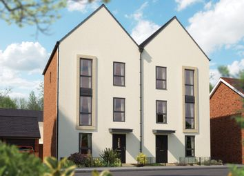 "Thumbnail 4 bed town house for sale in ""The Loughton"" at Limousin Avenue, Whitehouse, Milton Keynes"