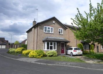 Thumbnail 3 bed detached house for sale in Portgate, Wigston, Leicestershire