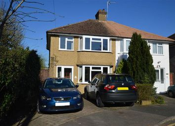Thumbnail 3 bedroom semi-detached house for sale in Nuttfield Close, Croxley Green, Rickmansworth Hertfordshire