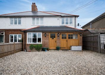 Thumbnail 3 bed semi-detached house for sale in Bramley Road, Sherfield-On-Loddon, Hook