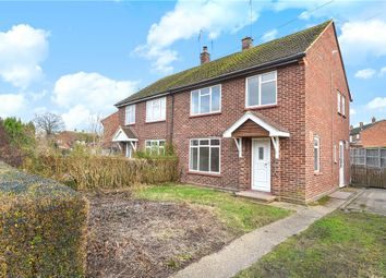 Thumbnail 3 bed semi-detached house for sale in Bowling Green Road, Chobham, Woking, Surrey