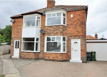 Thumbnail 2 bed semi-detached house for sale in Crosslands Road, York