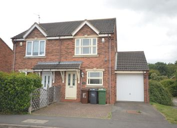 Thumbnail 2 bed semi-detached house to rent in Greeve Close, Great Oakley, Corby