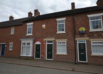 Thumbnail 2 bed terraced house to rent in Shrewsbury Road, Market Drayton