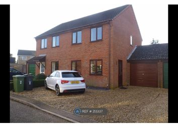 Thumbnail 3 bed semi-detached house to rent in Ferguson Road, Attleborough