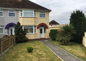 Thumbnail 3 bed semi-detached house to rent in Nash Road, Newport