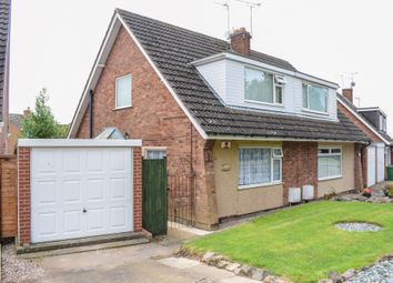 Thumbnail 3 bed semi-detached house for sale in Seaton Road, Wigston