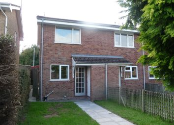 Thumbnail 2 bed end terrace house to rent in Blanchard Close, Leominster