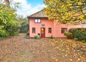 Thumbnail 3 bedroom semi-detached house for sale in Hellington Corner, Bergh Apton, Norwich