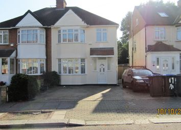 Thumbnail 3 bedroom semi-detached house to rent in Deanscroft Avenue, Kingsbury