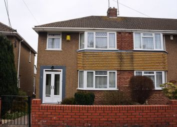 Thumbnail 3 bed end terrace house to rent in Yew Tree Drive, Kingswood, Bristol