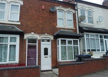 Thumbnail 3 bedroom terraced house for sale in Kentish Road, Handsworth, Birmingham