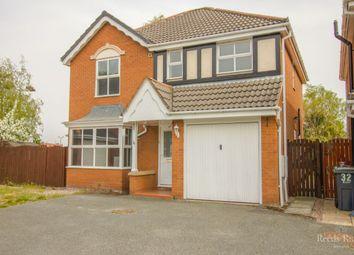 Thumbnail 4 bed detached house for sale in Guernsey Drive, Ellesmere Port