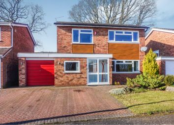 Thumbnail 4 Bed Detached House For Sale In Foredrift Close Redditch