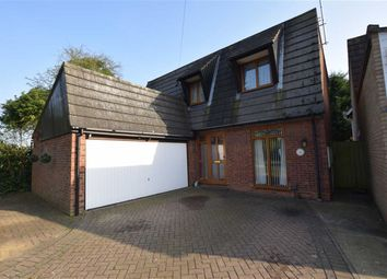 Thumbnail 4 bed detached house for sale in Woodcote Crescent, Basildon, Essex