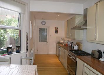 Thumbnail 3 bed terraced house to rent in Harlech Road, Southgate, London
