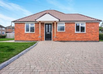 Thumbnail 2 bedroom detached bungalow for sale in Grange Road, Shepshed, Loughborough