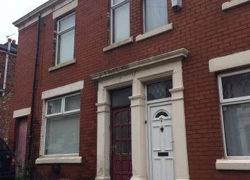 Thumbnail 3 bed terraced house to rent in Varley Street, Preston