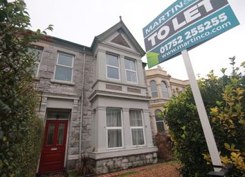 Thumbnail 6 bed shared accommodation to rent in North Road East, Plymouth