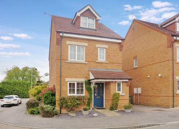 Thumbnail 3 bedroom detached house for sale in Brook Close, Dunstable