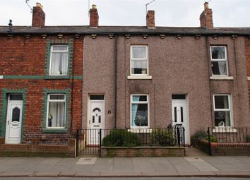 Thumbnail 2 bed terraced house for sale in Boundary Road, Currock, Carlisle, Cumbria