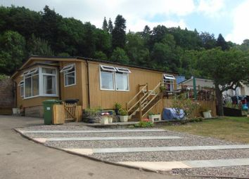 Thumbnail 2 bed mobile/park home for sale in Wyeside Park, Bishopswood, Ross-On-Wye