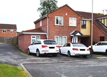 Thumbnail 4 bed semi-detached house for sale in Yarrow Close, Leicester