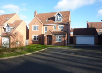 Thumbnail 5 bed detached house to rent in Woodcote Way, Littleover, Derby