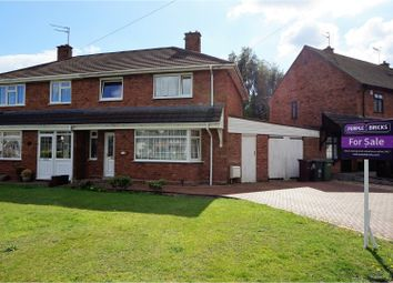 Thumbnail 3 bed semi-detached house for sale in Slade Road, Wolverhampton