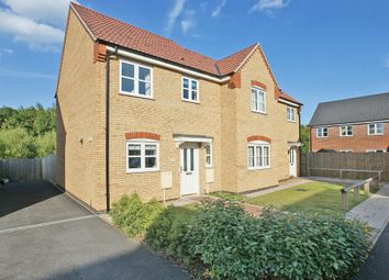 Thumbnail 3 bed semi-detached house to rent in Cortez Close, Spalding, Lincs