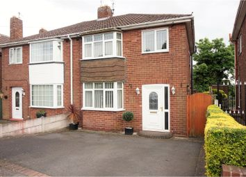Thumbnail 3 bed semi-detached house for sale in The Straits, Dudley