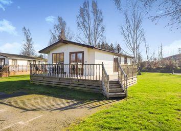 Thumbnail 2 bedroom mobile/park home for sale in Kirkgate, Tydd St. Giles, Wisbech