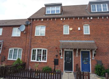 Thumbnail 4 bed town house for sale in Paddock Way, Hinckley